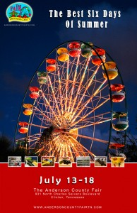 Anderson County 2009 Fair Poster